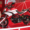 5/10: Launch of the 2013 Ducati motorcycle range, including the new updated Multistrada 1200 Pikes Peak edition, at the Intermot International Motorcycle Show in Cologne, Germany, Oct 2012.