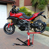 "1/3: The best addition to my garage/workshop ever!......the Abba Sky Lift.....A-MAZE-ING!! The ultimate bike lift / motorcycle stand for your Multistrada 1200! <b><a target=""_blank"" href=""http://abbastands.co.uk"">http://abbastands.co.uk</a></b>"
