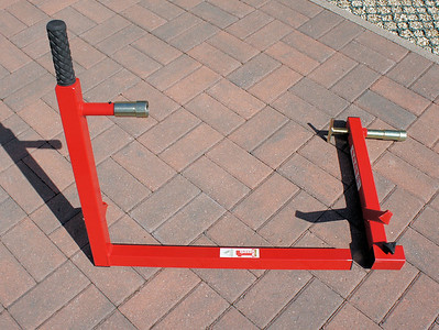 2/6: Abba Motorcycle Stand (better alternative to paddock stands!;-) with fitting kit for the Multistrada 1200