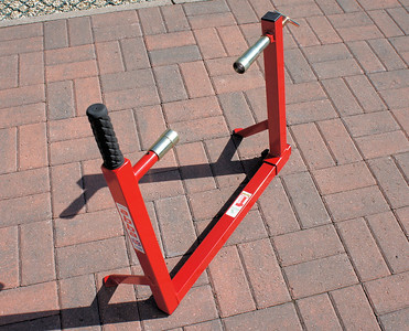 4/6: Abba Motorcycle Stand (better alternative to paddock stands!;-) with fitting kit for the Multistrada 1200