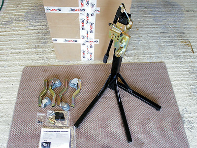 Bursig Motorcycle Side Lift Stand for the Multistrada 1200 - See HERE 1/16: What's in the box