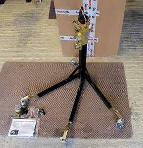 Bursig Motorcycle Side Lift Stand for the Multistrada 1200 - See HERE 5/16: Ready to use
