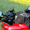 Multistrada 1200S - SW Motech Quick Lock Engage Tank Bag and Garmin Zumo mounted with the provided Garmin bar clamp. By Diva-di-Bologna.de member 'Kpt. Adama' (aka Klaus) - Kassel, Germany: