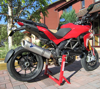 [AndyW] Abba Motorcycle Equipment motorcycle stand.....probably the best stand there is!  Abba Superbike Stand - Ducati Multistrada 1200