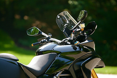 Another great shot by Ducati.MS member 'Milestones' of his beautiful Black Multistrada 1200S Touring :-)