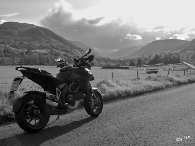 "2010 Black Multistrada 1200S - ""The Road Home"" by 'Technomad' (aka RichardH) See Richards own photo gallery here:  http://gallery.me.com/rh1#100031"