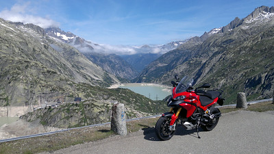 1/3 - Swiss Multistrada 1200 owner and Ducati.ms member PeterC out and about again - the Grimselpass, Switzerland