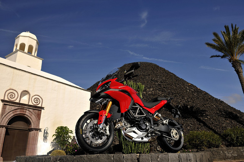 2010 Ducati Multistrada 1200 launch in Lanzarote, Canary Islands, Feb2010