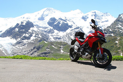 Photo by Swiss Multistrada 1200 owner Peter Crowe - Susten Pass, Switzerland