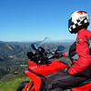 1/2 Photo of Ducati.ms member 'U235Power' (aka Chip) admiring the view - what a day, first day of ownership of the Multistrada 1200, superb weather, great roads, amazing scenery....what more can a man want?! <i>This picture with me looking off in the distance is on Piuma Rd. in Malibu, CA in the Santa Monica Mountains… I'm facing NE toward Calabasas and Thousand Oaks.</i> <b>Multistrada 1200 Info Resources: www.MTS1200.info</b>