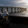 A great set of 6 scenic photos from Ducati.ms forum member 'miloVanMultistrada' (aka Miles) of his Multistrada 1200.<br /> 4/6 - Location:  Dundee, Tay Rail Bridge