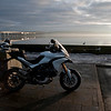 A great set of 6 scenic photos from Ducati.ms forum member 'miloVanMultistrada' (aka Miles) of his Multistrada 1200.<br /> 3/6 - Location:  Dundee, Tay Rail Bridge