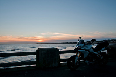 A great set of 6 scenic photos from Ducati.ms forum member 'miloVanMultistrada' (aka Miles) of his Multistrada 1200. 6/6 - Location: Abroath beach