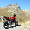 Not too far to travel for Swiss Multistrada 1200 rider Pierre........lucky bugger! :D<br /> Mont Blanc ( Monte Bianco) the highest mountain in the Alps located between the regions of Aosta Valley, Italy, and Haute-Savoie, France.