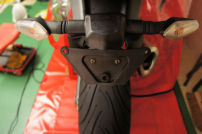 7/9: Multistrada 1200 - rear end / tail tidy ...up :-) More details here