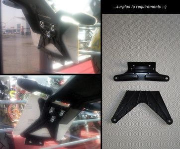 1/9: Multistrada 1200 - rear end / tail tidy ...up :-) More details here