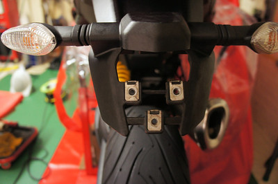 6/9: Multistrada 1200 - rear end / tail tidy ...up :-) More details here