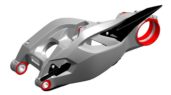Ducati Multistrada 1200 he single-sided swingarm (same as the 1098 I believe?)