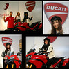 Joanna Belle Ng (Joannabelle Ng), Miss Unvierse Malaysia 2009 at the Ducati Multistrada 1200 launch in Malaysia June 2010