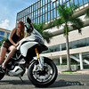 """Looking for the source of the original photo for this photo set - please get in touch: <a href=""""http://MTS1200.info"""">http://MTS1200.info</a><br /> Ducati Multistrada 1200 Girl / Model"""