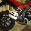 "Multistrada 1200 stock / OE exhaust vs... (see next photo)<br /> <br /> See: Multistrada 1200 Exhausts Systems & Exhaust Modifications <br />  <a href=""http://www.motorcycleinfo.co.uk/index.cfm?fa=contentGeneric.qsconequekcvtgsq&pageId=2227905"">http://www.motorcycleinfo.co.uk/index.cfm?fa=contentGeneric.qsconequekcvtgsq&pageId=2227905</a>"