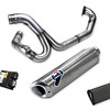 "Ducati / Termignoni full exhausts system compenents for the Multistrada 1200 - note the 'kit' includes a free flow air filter and a replacement ECU<br /> <br /> See: Multistrada 1200 Exhausts Systems & Exhaust Modifications <br />  <a href=""http://www.motorcycleinfo.co.uk/index.cfm?fa=contentGeneric.qsconequekcvtgsq&pageId=2227905"">http://www.motorcycleinfo.co.uk/index.cfm?fa=contentGeneric.qsconequekcvtgsq&pageId=2227905</a>"