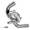 """Multistrada 1200 exhaust CAT box - Retain the standard ' OE Multistrada 1200 Exhaust silencer but replace the huge and heavy exhaust CAT box with a bypass pipe: MIVV decat pipe D.027.C1 (now D.027.C3)  http://www.mivv.it/en Multistrada 1200 / MTS1200 Link Pipe / Exhaust Decat pipe. See: <b><a target=""""_blank"""" href=""""http://www.motorcycleinfo.co.uk/index.cfm?fa=contentGeneric.qsconequekcvtgsq&pageId=5106414""""> Multistrada 1200 / MTS1200 - Replacing the Exhaust CAT / Collector box</a></b>  See: Multistrada 1200 Exhausts Systems & Exhaust Modifications   http://www.motorcycleinfo.co.uk/index.cfm?fa=contentGeneric.qsconequekcvtgsq&pageId=2227905"""