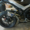 "Multistrada 1200 cut down Termignoni exhaust end can / silencer - see the 'how to' article: <b><a target=""_blank"" href=""http://www.motorcycleinfo.co.uk/index.cfm?fa=contentGeneric.xcqsqfklorcyzcxw&pageId=1589737""> Multistrada 1200 Full Termignoni Exhaust 'Stubby' Conversion</a></b>"