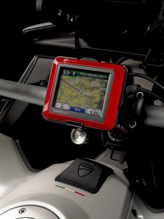 "Multistrada 1200 - Ducati (DP) GPS unit <b><a target=""_blank"" href=""http://www.motorcycleinfo.co.uk/index.cfm?fa=contentGeneric.psqlmptrfsppjcbe&pageId=4958724#gps_mount"">AndyW's Multistrada 1200 GPS / SatNav mount</a></b>    <p><b><a target=""_blank"" href=""http://www.motorcycleinfo.co.uk/index.cfm?fa=contentGeneric.zvfiihryhlqbrzht&pageId=1214516"">Ducati Multistrada 1200 MTS1200 GPS / Sat Nav (SatNav) Info</a></b></p>"