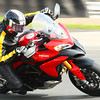 "1/2 - Ducatisti 'dabba' (aka Dave) enjoying his Multistrada 1200 to the full at Oulton Race Circuit Aug2011   <p>See: <b><a target=""_blank"" href=""http://www.motorcycleinfo.co.uk/index.cfm?fa=contentGeneric.wuyjdrgpolhdvlck"">Multistrada 1200 Info & Resources</a></b></p>"