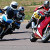 "Ducati.ms member 'martinm3j' (aka Mark) showing more conventional track bikes that the Multistrada 1200 is a contender! :D ""<i>Multi 1200S on June 26, 2011 track day organized by Chicane Track Days, at High Plains Raceway, a new track near Denver, Colorado. Michelin Pilot Pure tires at 30R, 32F.  Hard to get a knee down with such a tall bike. But it keeps up pretty good, and I can throw my laptop in the case on Monday and comfortably drive it to work, unlike these other guys...</i>"""