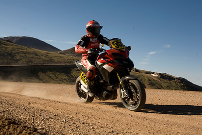 Pikes Peak Multistrada 1200 race bike   See: Multistrada 1200 Info & Resources