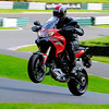 1/4: Multistrada 1200 at Cadwell park race circuit track day 05Sep2012 - a few great shots of StuartC (aka Big Stu) enjoying the Mutley!