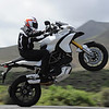 "Ducati Multistrada 1200 wheelie - front end well and truly hoisted :-)   <p>See: <b><a target=""_blank"" href=""http://www.motorcycleinfo.co.uk/index.cfm?fa=contentGeneric.wuyjdrgpolhdvlck"">Multistrada 1200 Info & Resources</a></b></p>"