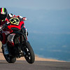 "5/8: August 2012 - Ducati Multistrada 1200 wins Pikes Peak again! The Ducati Multistrada 1200 S Pikes Peak wins for 3rd time. Both Carlin Dunne and Spider Grips Ducati team mate and six-time winner Greg Tracy finished the race under the 10-minute barrier, which is a first for any motorcycle in the race's 90-year history. Dunne crossed the finish line at the 14,110-foot summit of Pikes Peak with the record-setting time of 9:52.819, beating his previous record of 11:11.32, while Tracy was less than six seconds behind, placing second with 9:58.262. See:  <b><a target=""_blank"" href=""http://www.motorcycleinfo.co.uk/index.cfm?fa=contentGeneric.wuyjdrgpolhdvlck"">Multistrada 1200 Info & Resources</a></b>"