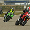 1/3: Dutch Multstrada 1200 owner AntoineS - track day at Midland Circuit Lelystad, Netherlands 2013