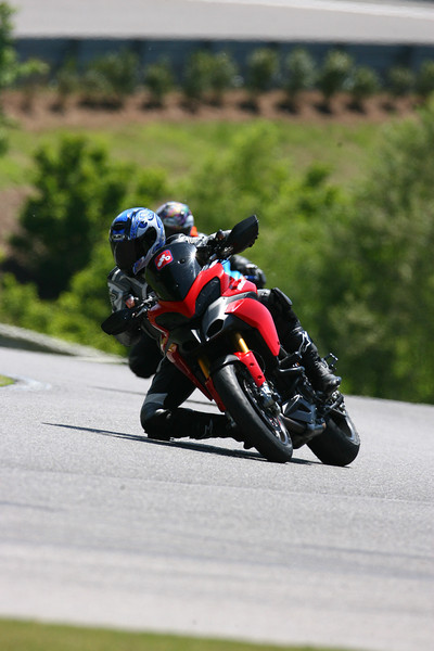 "2/3: Ducati.ms member -Greg- enjoys a Barber Motorsports trackday on his Multistrada 1200 (May2012), full story here:  <b><a target=""_blank"" href=""http://www.motorcycleinfo.co.uk/index.cfm?fa=contentGeneric.hbkxldonarlecghl&pageId=5624431"">Multistrada 1200 - 1003 Miles to Barber Motorsports Trackday</a></b>"