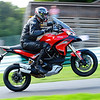 3/4: Multistrada 1200 at Cadwell park race circuit track day 05Sep2012 - a few great shots of StuartC (aka Big Stu) enjoying the Mutley!