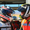 "4/7:  Norrie meets Neil Hodgson on a Multistrada 1200 at the track day at Almeria Race Circuit (Andalusia, Spain) Sep 2012. Photos courtesy of FrankS (<a target=""_blank"" href=""http://www.ducatisportingclub.com"">www.ducatisportingclub.com</a>). More photos from Frank <b><a target=""_blank"" href=""https://plus.google.com/u/0/photos/105520266089479345556/albums/5821843455934546433"">here</a></b> NB: Credits to the photographer usually quoted but sadly we don't have his/her details."