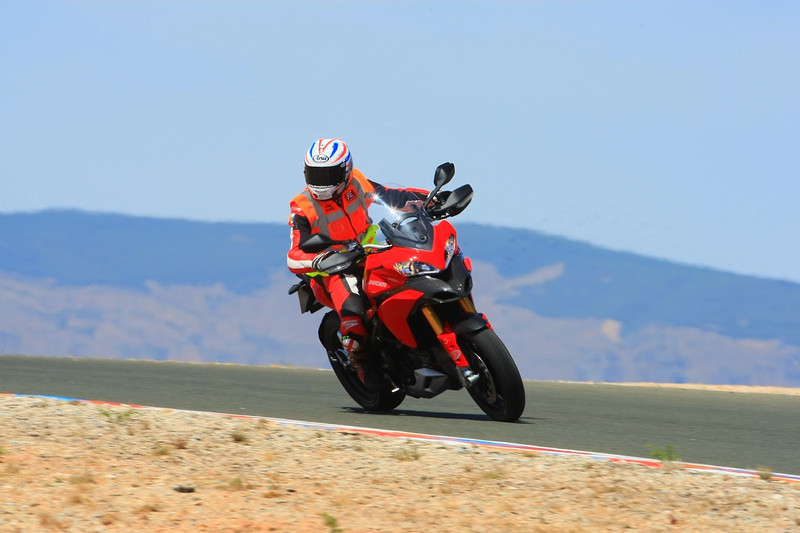"1/7:  Steve Plater on a Multistrada 1200 at a track day at Almeria Race Circuit (Andalusia, Spain) Sep 2012. Photos courtesy of FrankS (<a target=""_blank"" href=""http://www.ducatisportingclub.com"">www.ducatisportingclub.com</a>). More photos from Frank <b><a target=""_blank"" href=""https://plus.google.com/u/0/photos/105520266089479345556/albums/5821843455934546433"">here</a></b> NB: Credits to the photographer usually quoted but sadly we don't have his/her details."