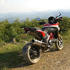 """2/3: Multistrada 1200 Pikes Peak off road after a session in the mud! - by 'Butch' (China) - """"<i>Anjii / Moganshan area in Zhejiang Province (my favorite playground 2 hrs. ride from Shanghai)</i>"""""""