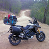 Johan G's 'Titanium' Multistrada 1200, the first in these photo galleries!<br /> Touring holiday......Victoria, Australia.