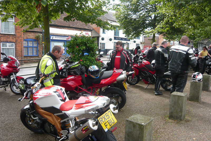 """13/17: Multistrada Meet & Rideout 01Sep2012 (from Benson, Oxfordshire). 22 Bikes - 10 x MTS1200, 6 x MTS1000/1100, 1 x MTS749!! and 5 others. See here: <br />  <a href=""""http://ducatiforum.co.uk/f6/benson-buckingham-multi-run-%96-10am-saturday-1st-september-4089/"""">http://ducatiforum.co.uk/f6/benson-buckingham-multi-run-%96-10am-saturday-1st-september-4089/</a>"""