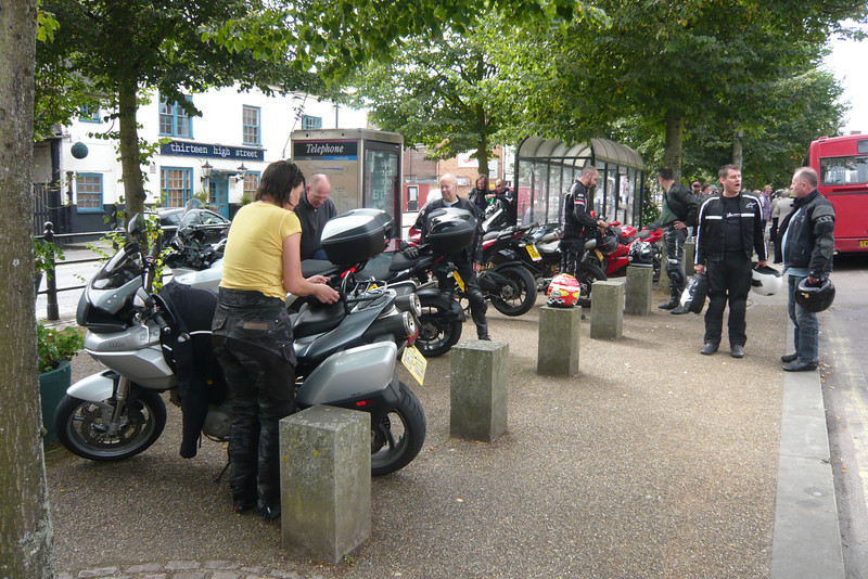 """14/17: Multistrada Meet & Rideout 01Sep2012 (from Benson, Oxfordshire). 22 Bikes - 10 x MTS1200, 6 x MTS1000/1100, 1 x MTS749!! and 5 others. See here: <br />  <a href=""""http://ducatiforum.co.uk/f6/benson-buckingham-multi-run-%96-10am-saturday-1st-september-4089/"""">http://ducatiforum.co.uk/f6/benson-buckingham-multi-run-%96-10am-saturday-1st-september-4089/</a>"""