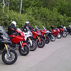 Multistrada 1200 owners meet at Popham Airfield 08 May 2011 - 18 MTS1200's! :D<br /> Photo by Ducatisti.co.uk member 'MTS_Tone' (Tony)