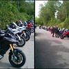 Multistrada 1200 owners meet at Popham Airfield 08 May 2011 - 18 MTS1200's! :D<br /> Photo by Ducatisti.co.uk member 'Dementor'