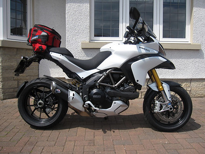 Ducatisti.co.uk member 'superally' (aka Alistair) - Multistrada 1200S Sport - Renfrewshire, Scotland