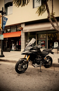 1/3 - Black Multistrada 1200S Sport Ducati.MS member 'Borracho' - Fullerton, CA, USA Chris Kraft Photography