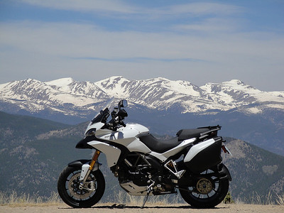 Photo by Ducati.MS member 'sfarson' Juniper Pass / Mt. Evans, Rockies, USA Brief story HERE