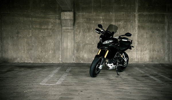 2/3 - Black Multistrada 1200S Sport Ducati.MS member 'Borracho' - Fullerton, CA, USA Chris Kraft Photography